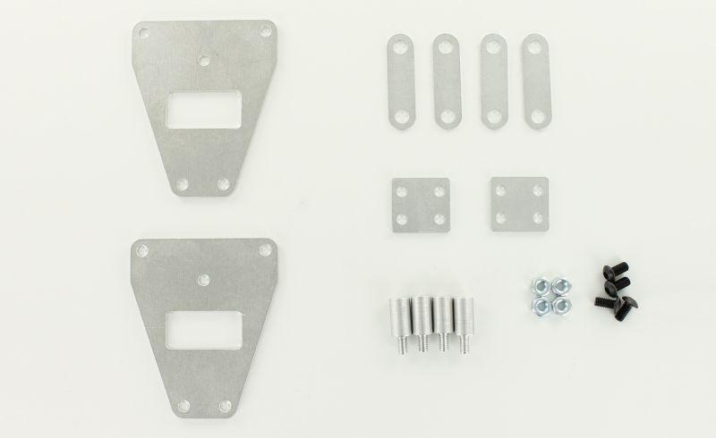 Höherlegungs-Set +8mm für 1/14 EU 3-Achs-Zugmaschinen