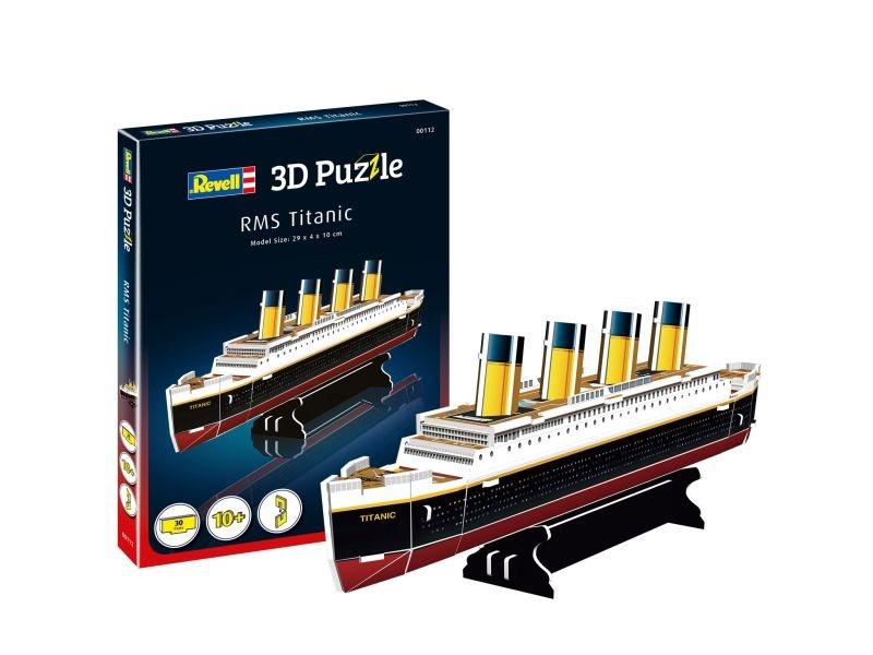 3D Puzzle RMS Titanic 30 Teile