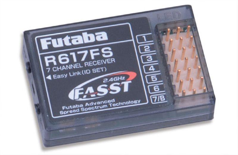 Empfänger R617FS 7-Kanal 2.4GHz FASST