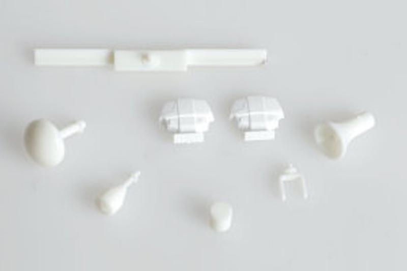 Radaranlage 1:20-1:25 Kunststoff Bausatz, weiß