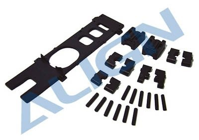 Kunststoff-Teile für Carbon Chassis für T-Rex 450