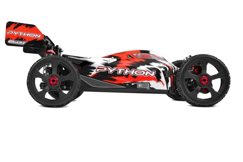 PYTHON XP 6S 4WD Brushless Buggy 1:8 2,4GHz RTR - Neu 2021