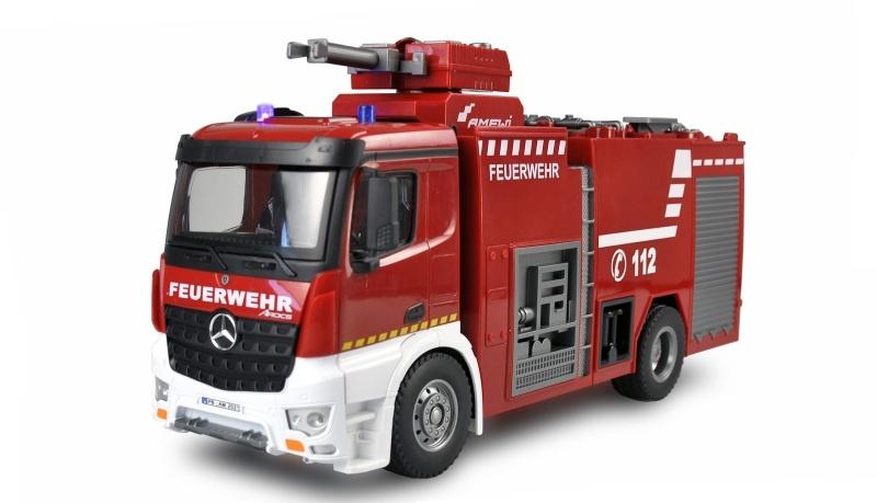 Mercedes-Benz AROCS Feuerwehr Löschfahrzeug 1:18 RTR