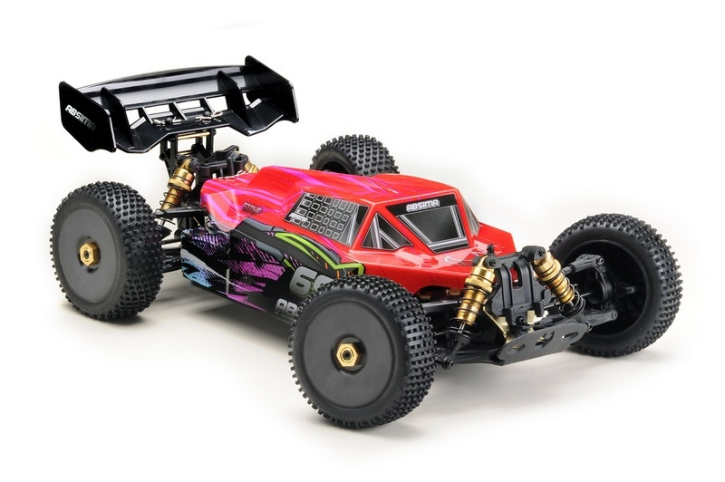STOKE Gen2.0 4WD Brushless Buggy 1:8 6S RTR 2,4GHz RTR