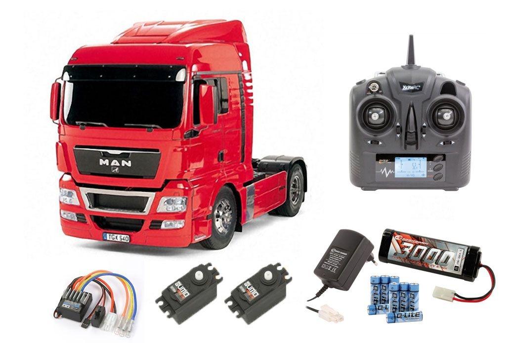 MAN TGX 18.540 4x2 XLX - Red Edition Komplettset Sparset