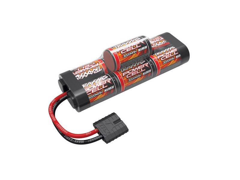 Power Cell 3000mAh 8,4V 7Z NiMh Hump TRAXXAS iD-Stecker