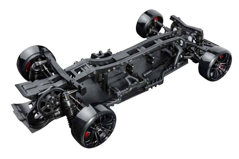 RRX 2.0 Black Drifter 2WD mit Heckmotor 1:10 Bausatz