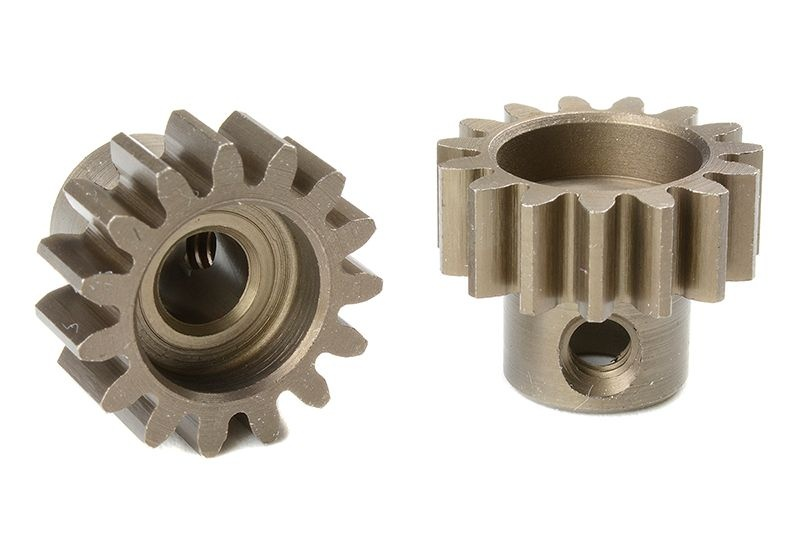 Motorritzel gehärteter Stahl Modul 1.0, 15T (5mm Welle)