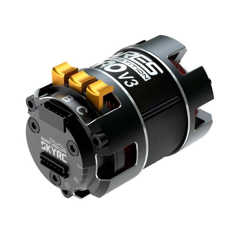 Ares Pro 540 V3 Brushless Motor 17.5T 2450kV mit Sensor