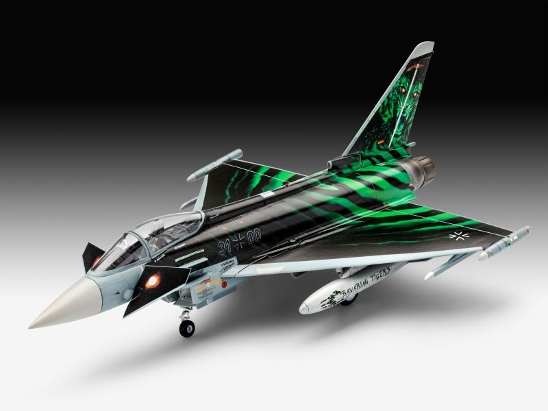 Model Set Eurofighter Ghost Tiger 1:72