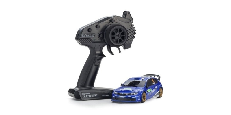 Mini-Z AWD Subrau Impreza WRC 2008 Drift 2,4GHz RTR