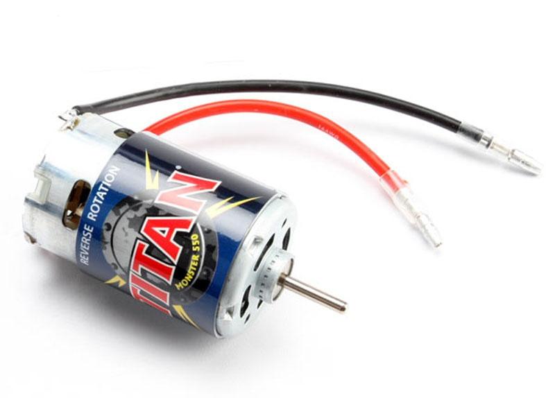 Titan 550 Motor Reverse-Rotation (E-Revo)