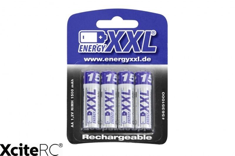 energyXXL Mignon Akkus 1500 mAh Ni-MH Typ AA