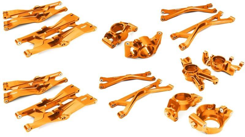 Alu Conversion-Set für Traxxas X-Maxx, orange