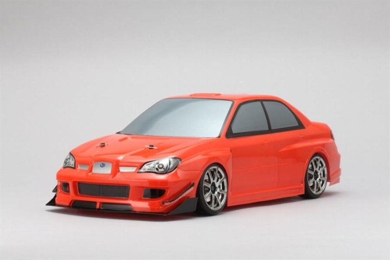 Yukes SYMS GDB Impreza 1/10 On-Road Karosserie (klar) Set