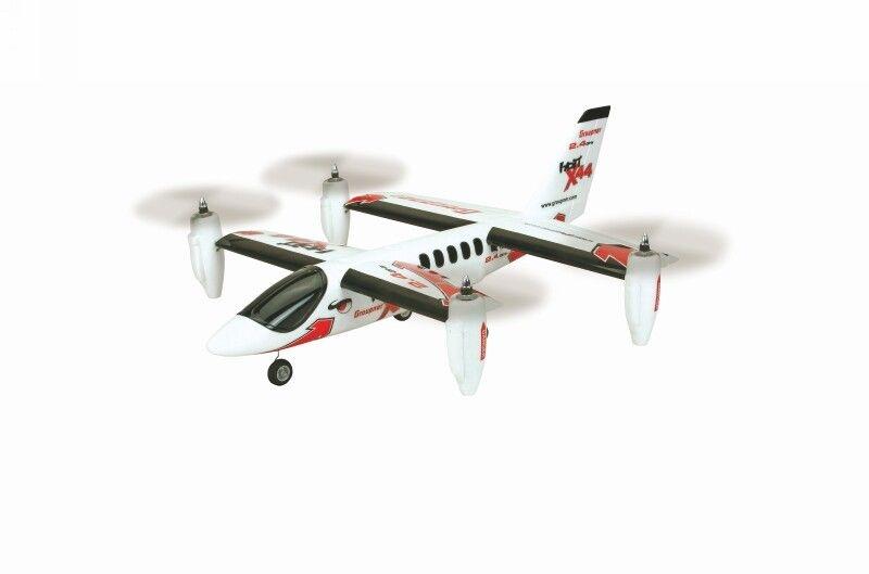 X44 VTOL ARTF Elektro Flugmodell, Senkrechtstarter, 695 mm