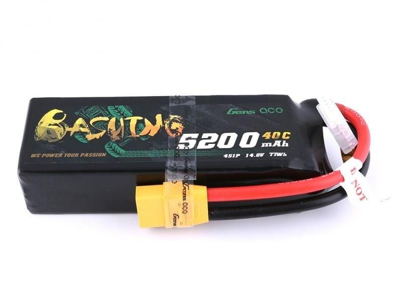 Bashing 5200mAh 14.8V 4S1P Lipo Akku mit XT90-Stecker Arrma