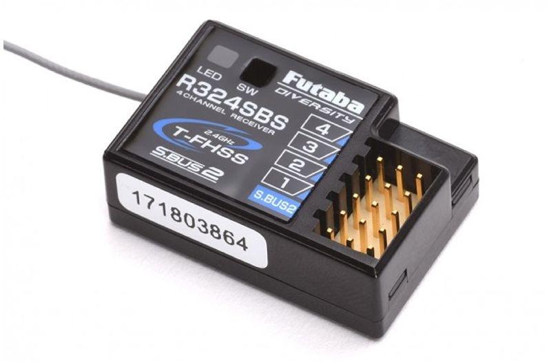 R324SBS 2,4GHz T-FHSS 4- Kanal Telemetire-Empfänger