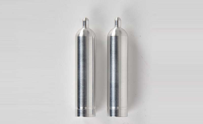 1:14 Alu Gasflasche 40L (2) silber