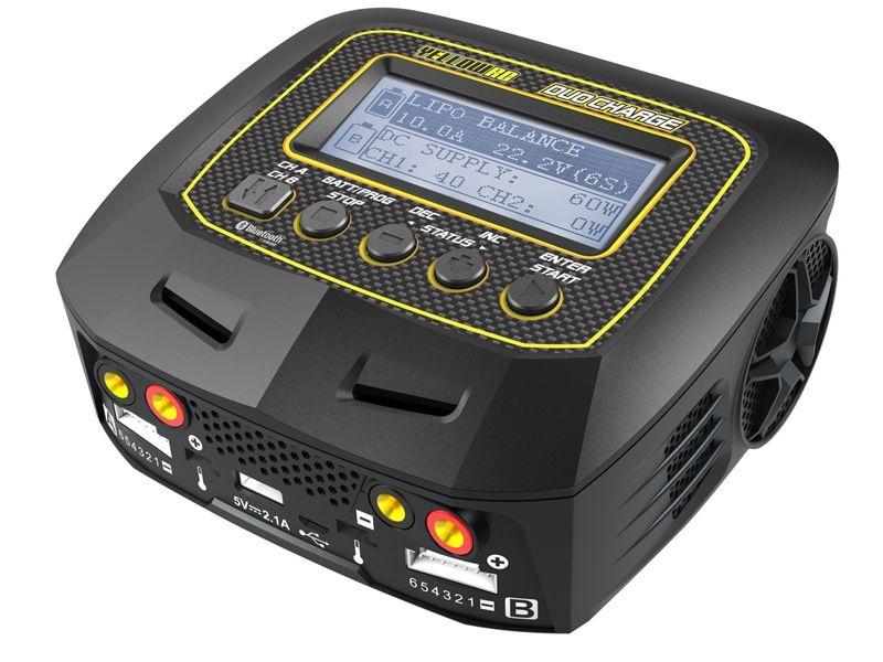 Duo Charge Ladegerät AC/DC Lipo 1-6S 10A 2x100W Traxxas