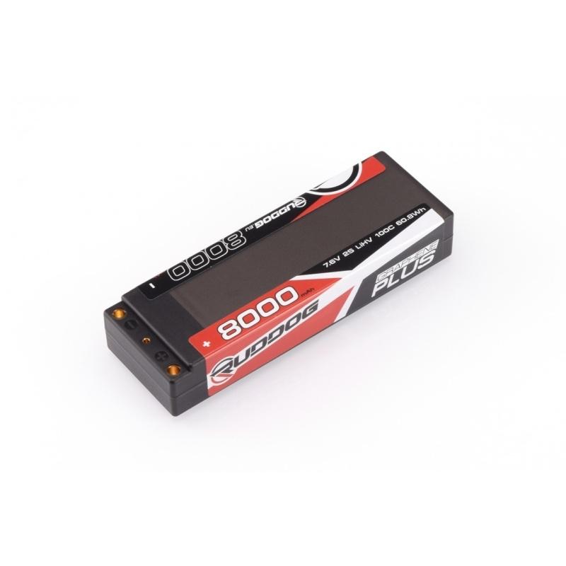LiHV Akku 8000mAh 100C 7.6V Graphene Plus Stick Pack