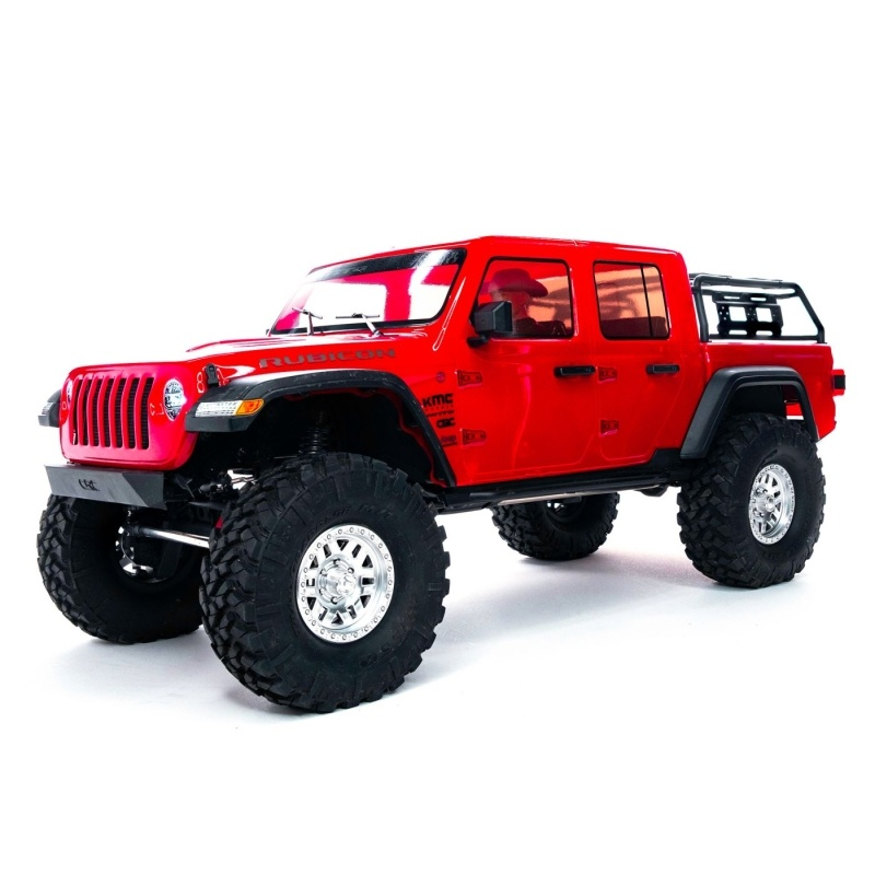 SCX10 III Jeep JT Gladiator with Portals 4WD 1/10 RTR, rot