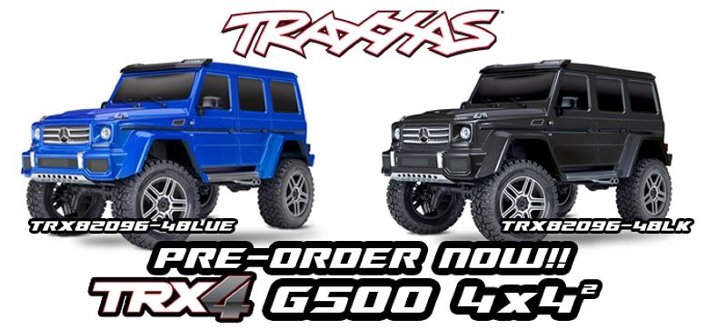 TRX-4 Mercedes G500 4x4 1/10 Scale & Trail Crawler RTR