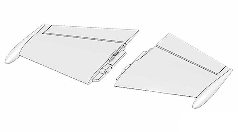Tragflächen links und rechts FunJet ULTRA