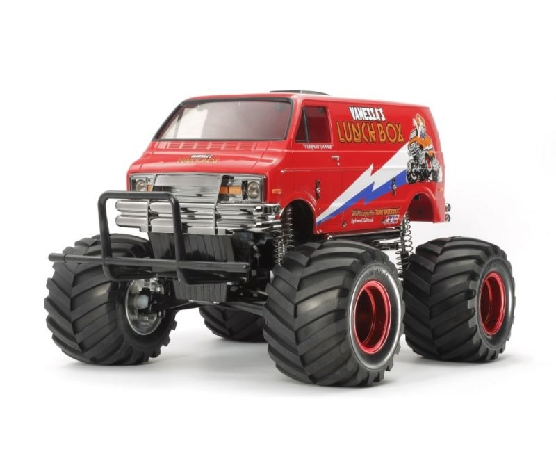 RC Lunch Box 1/12 Red Edition 2WD Chassis Bausatz