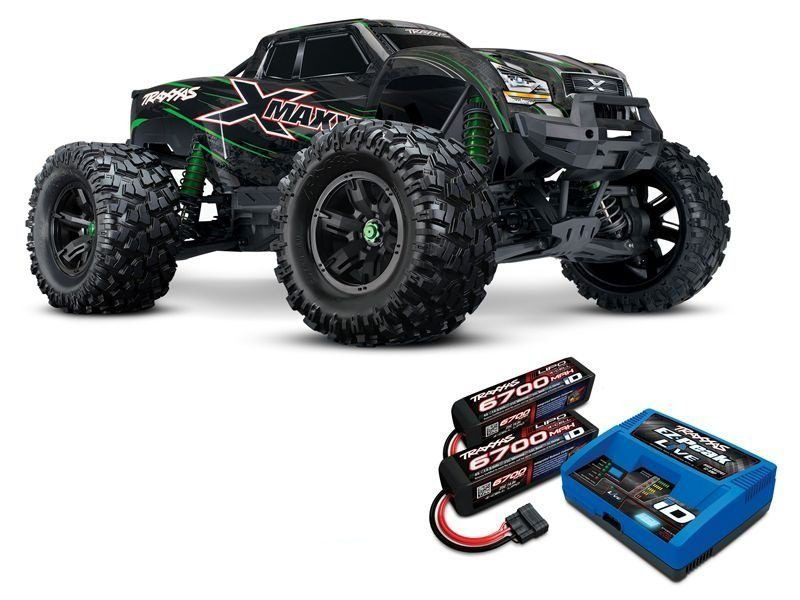 X-MAXX 8S 4WD Brushless Monstertruck mit Lipos und Lader