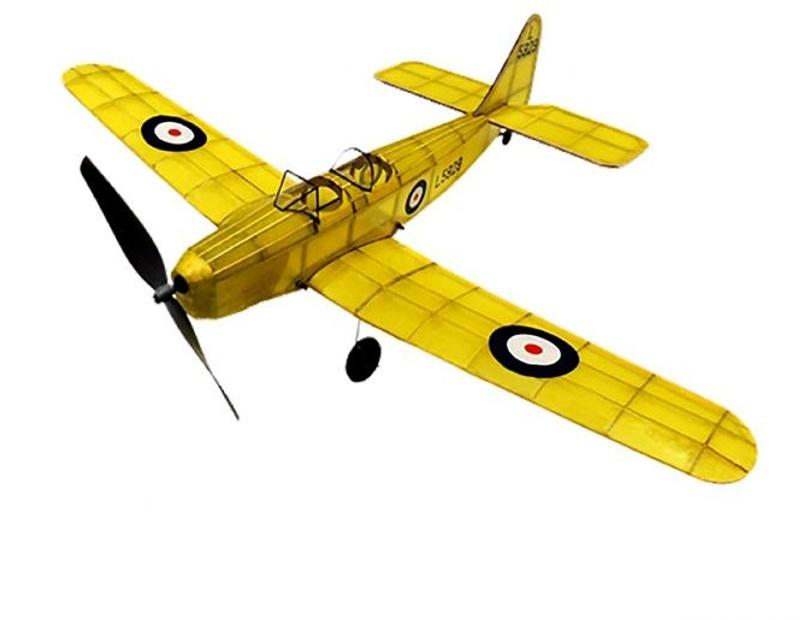 Miles Magister Gummimotor-Flugmodell aus Balsaholz
