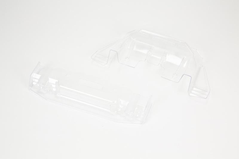 FELONY 6S BLX Splitter und Diffuser klar/unlackiert