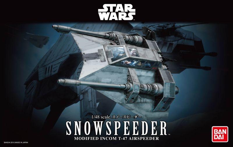 BANDAI Star Wars Snowspeeder 1/48