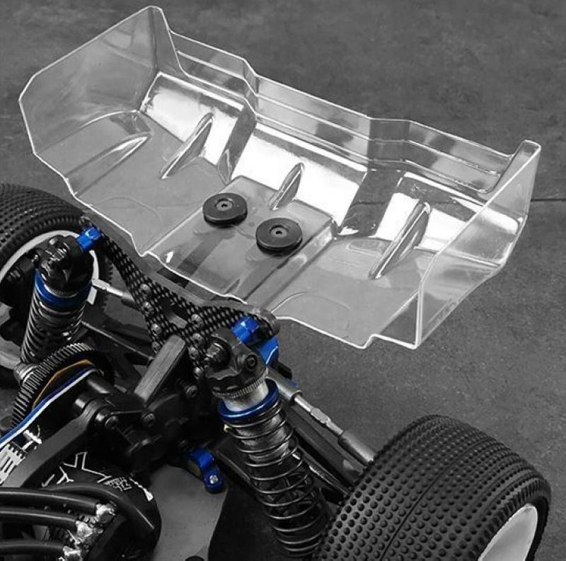 Vertigo Heckflügel 1,5mm (klar) 1:10 Off-Road Modelle (2)