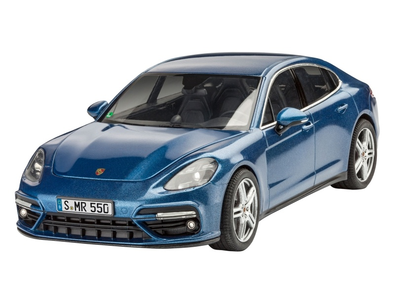 Porsche Set Plastikbausatz 1:24 inkl. Farben, Pinsel, Kleber
