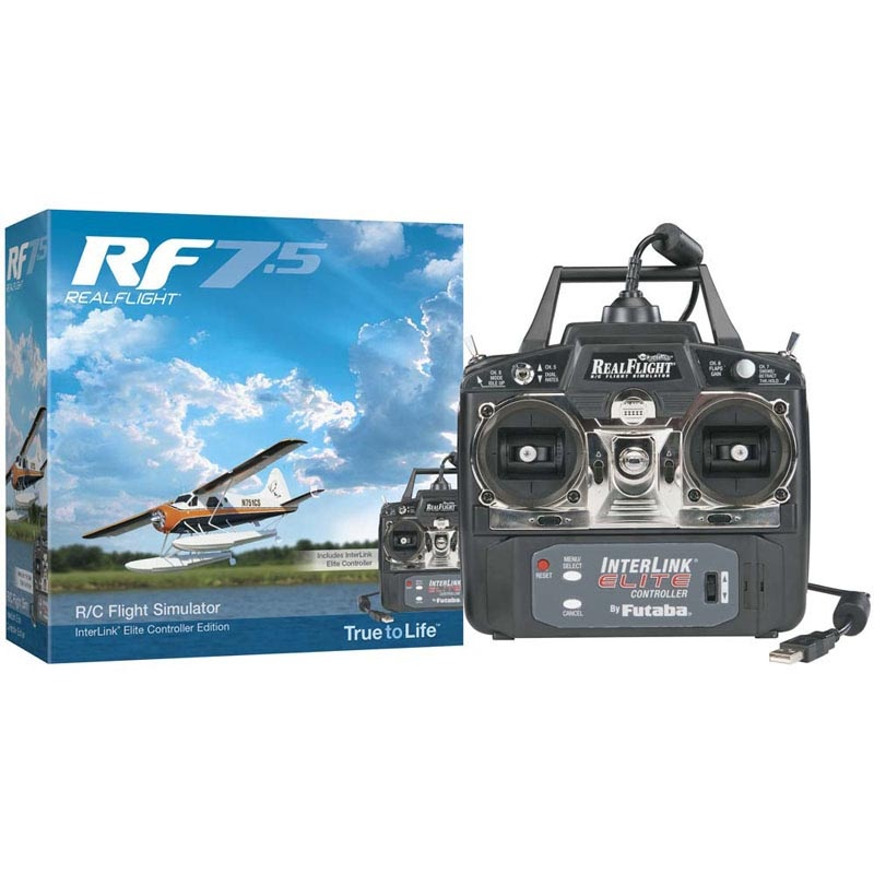 RealFlight 7.5 Elite InterLink Controller Mode 2