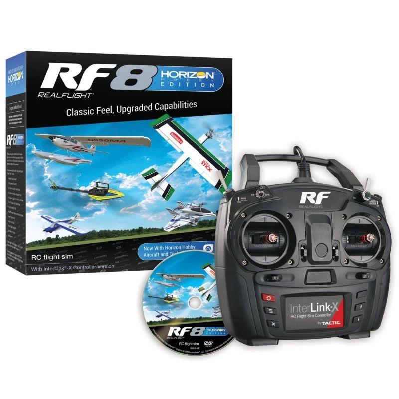RF8 Horizon Hobby Edition Flugsimulator mit Controller
