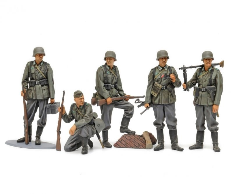 1:35 Figuren-Set Deutsche Infanterie 1941/42 (5 Figuren)