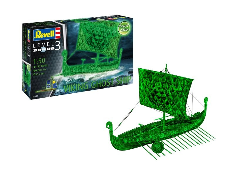 Viking Ghost Ship -Glow In The Dark- 1:50