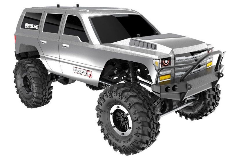 Everest Gen7 Sport 1:10 Crawler 4WD Silber Edition RTR