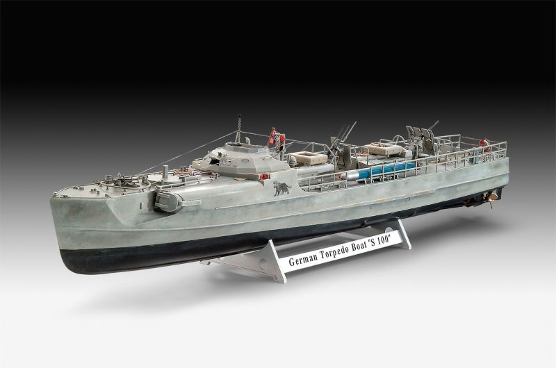 German Fast Attack Craft S-100 Schnellboot 1:72 Bausatz
