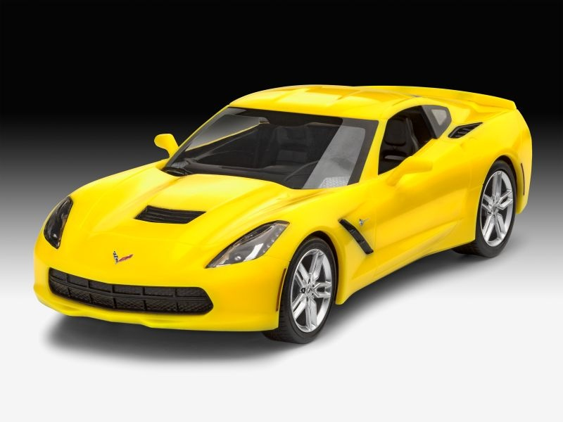 Easy-Click System 2014 Corvette Stingray 1:25 Bausatz