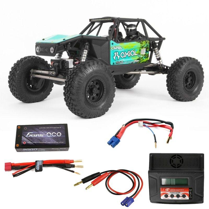 Capra 1.9 4WD Trail Buggy 1/10 2,4GHz RTR grün Komplett Set