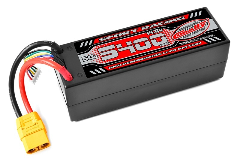 Sport Racing Lipo Akku 14,8V 50C 5400mAh 4S XT-90 Stecker