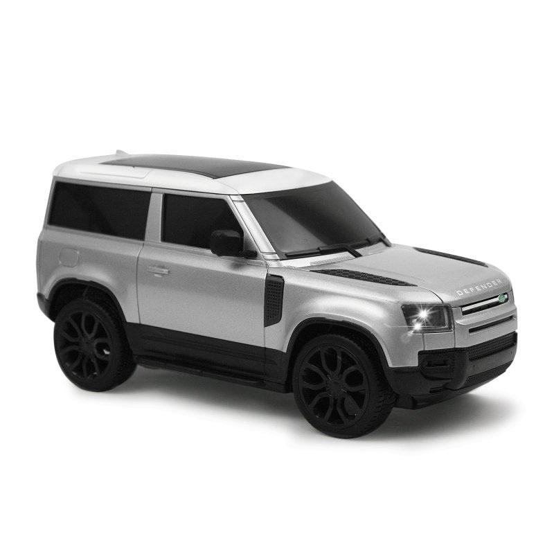 Land Rover Defender 1:24 2.4GHz 100% RTR, silber