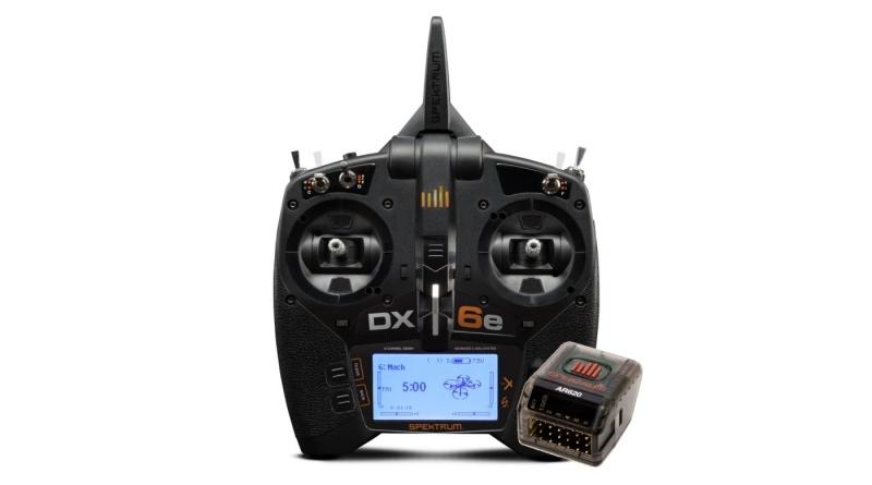 DX6e 6-Kanal Fernsteuerung 2,4GHz DSMX mit AR620 Empfänger