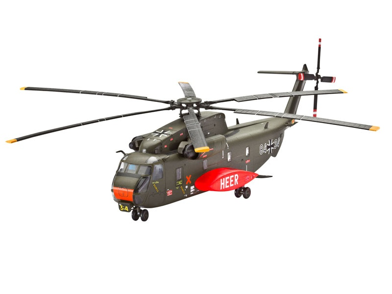 CH-53 G Heavy Transport Helicopter 1:144
