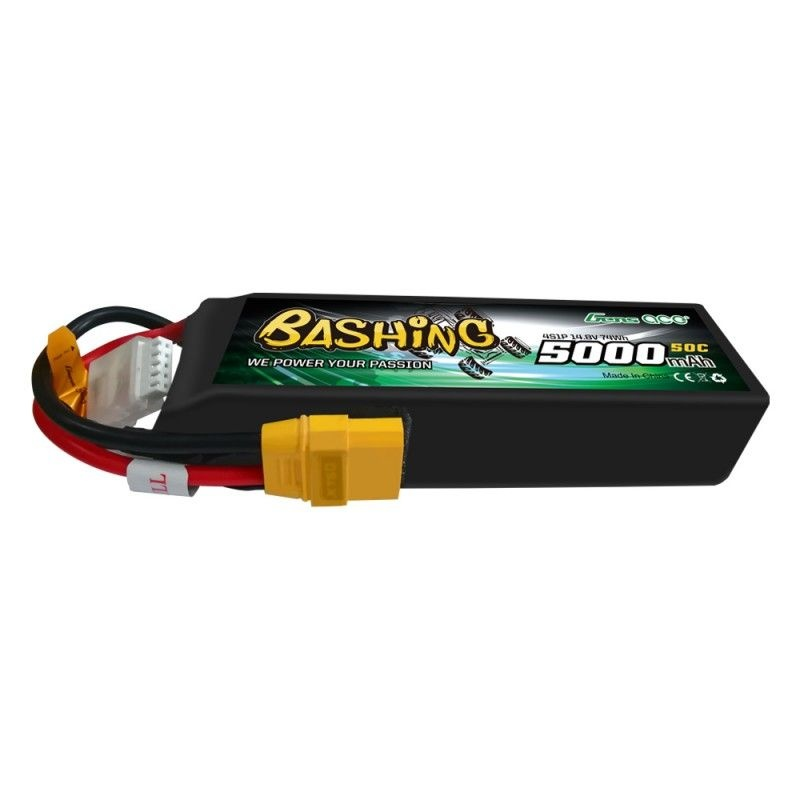 Bashing LiPo Akku 5000mAh 14,8V 4S1P 50C mit XT90 Stecker