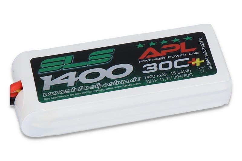 APL 1400mAh 3S 11,1V 30C+60C  TRX