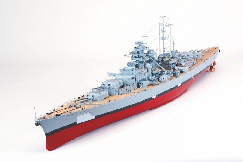 WP BISMARCK Schlachtschiff ohne Tarnung